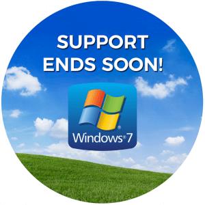 Windows 7 einde support